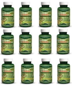 Garcinia Cambogia Extract HCA Capsules x 12